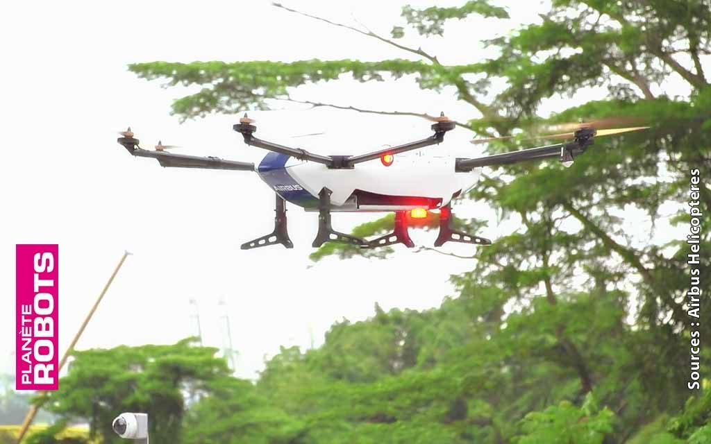 Des drones Airbus de livraison dans l'espace aérien de Singapour
