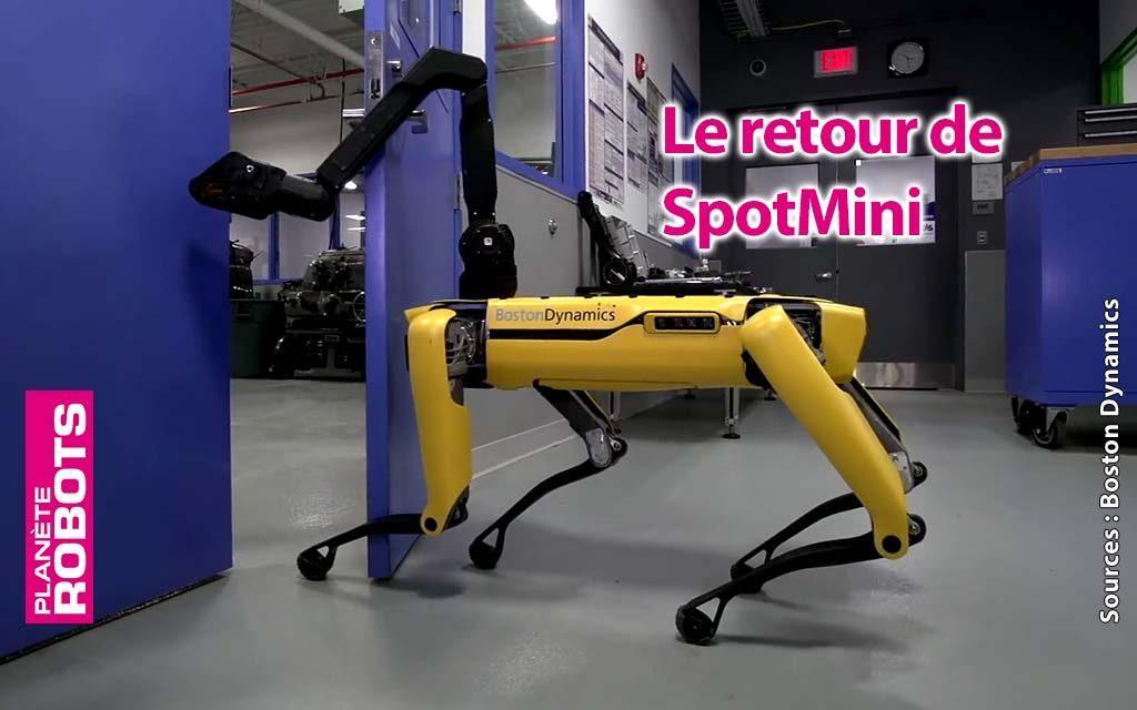 Un nouveau Buzz de Boston Dynamics avec Spotmini