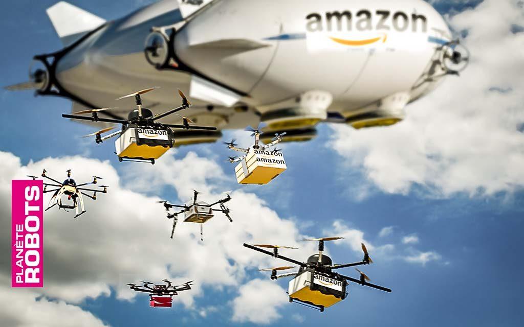 Quand les drones Amazon répondront au doigt et à l'œil !
