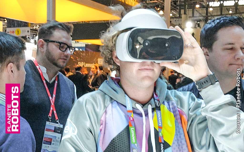 Un Mirage pour la réalité virtuelle