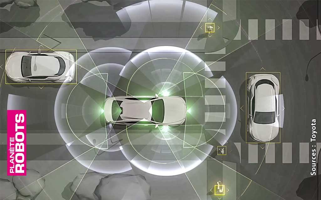 Toyota va investir pour 2,8 milliards de dollars dans les véhicules autonomes