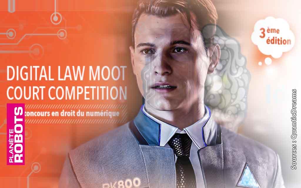 Digital Law Moot Court Competition : Un concours de plaidoiries pour les droits des robots