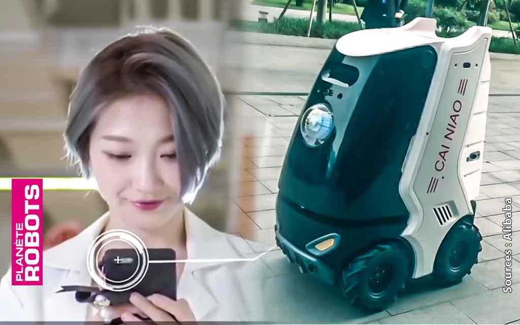 Alibaba et les 40 livreurs robots