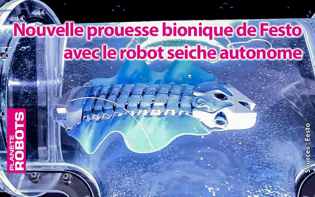 Un nouvel organisme bionique aquatique chez Festo