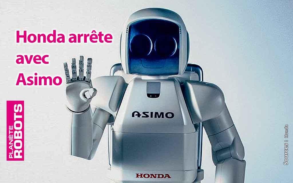 Le développement d'Asimo est stoppé par Honda