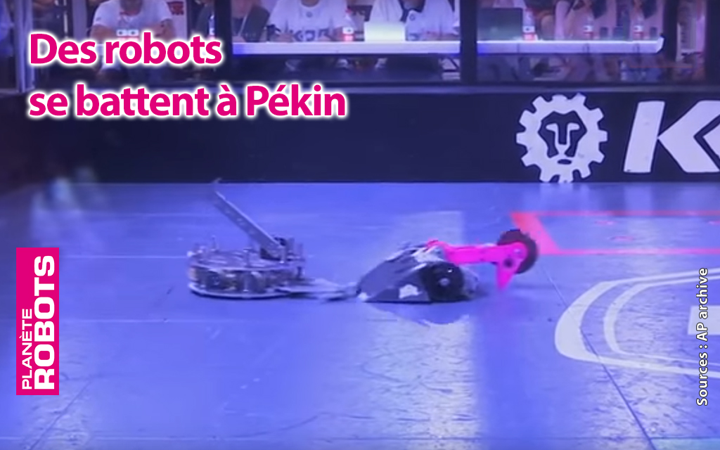 Un petit combat de robots pendant le Congrès ?
