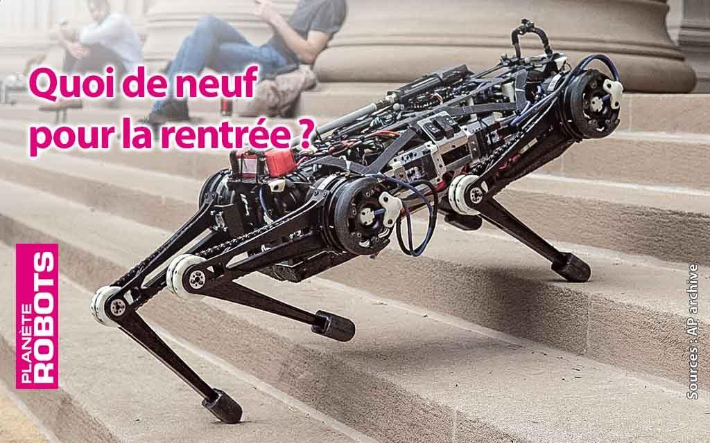 Édito et Sommaire du Planète Robots N° 53