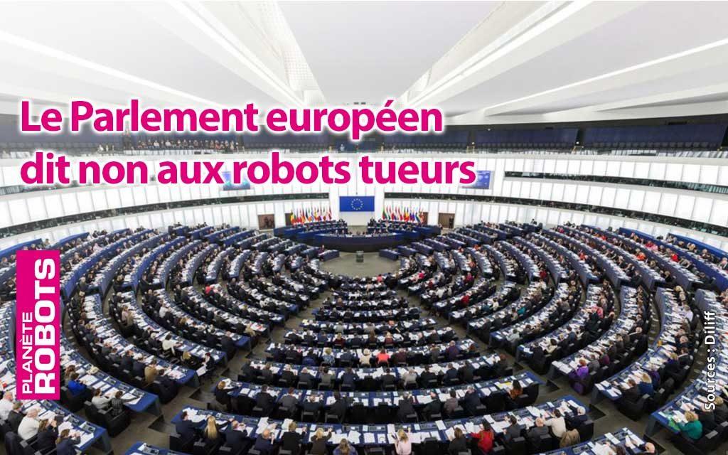 Les robots tueurs, l'Europe vient de dire non