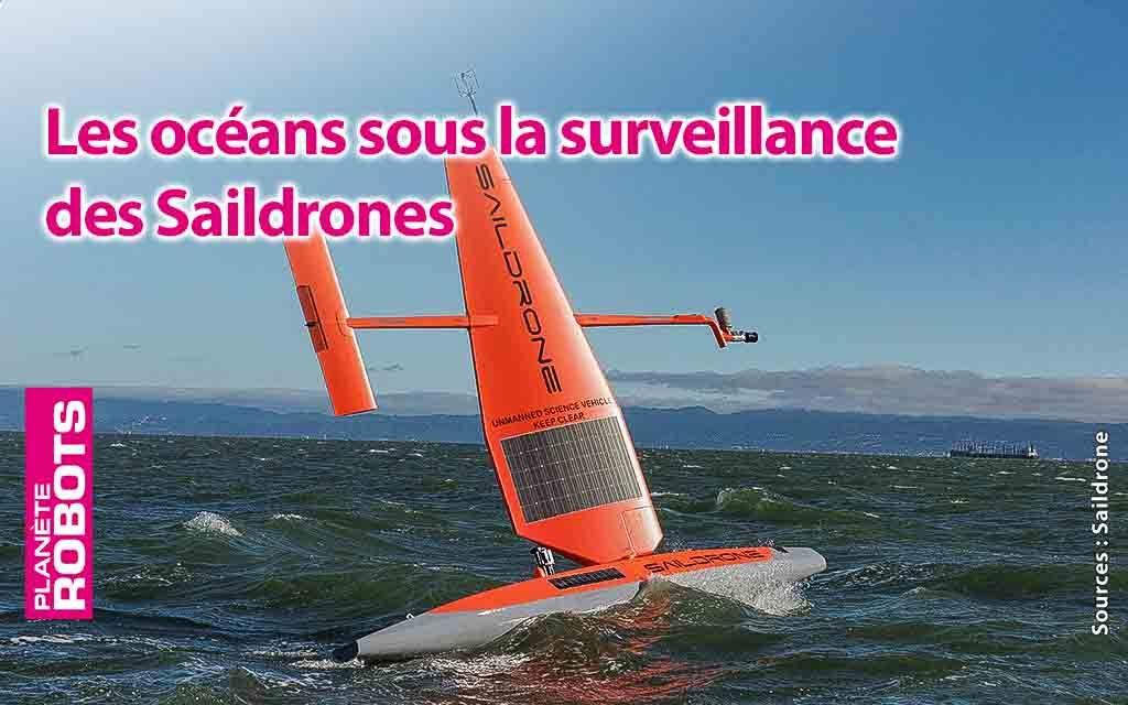 Des Saildrones pour surveiller les océans