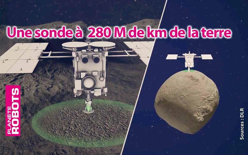 Un concentré de technologie à 280 millions de km de la terre