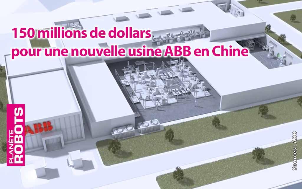 ABB et 150 millions de dollars pour une nouvelle usine en Chine