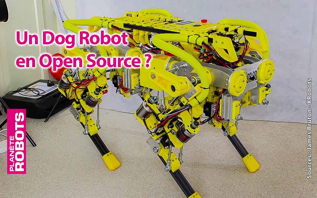 Un chien robot en Open Source