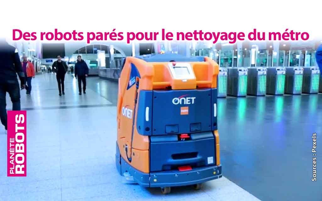 Les hautes technologies descendent dans les couloirs du métro