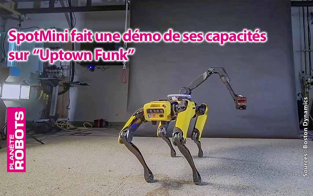 SpotMini se déhanche sur de la Funk