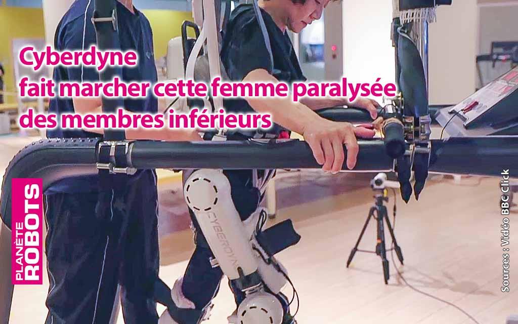 Les exosquelettes de Cyberdyne vont refaire marcher des paraplégiques