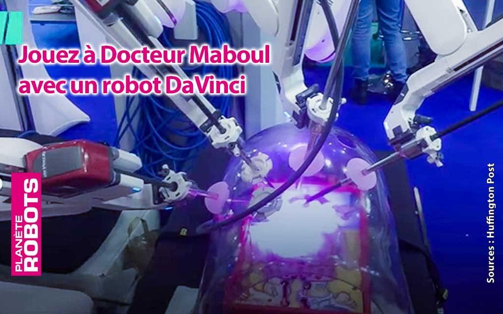 Une partie de Docteur Maboul avec un robot à 2M€ d'euros ?