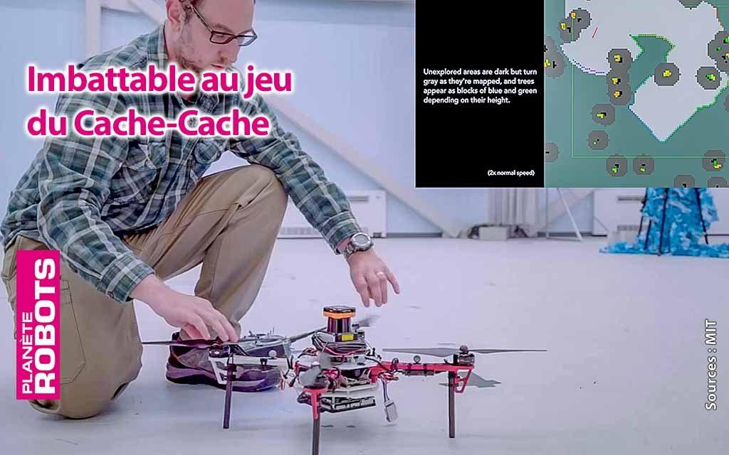 Ces drones du MIT gagnent toujours au jeu du cache-cache en forêt