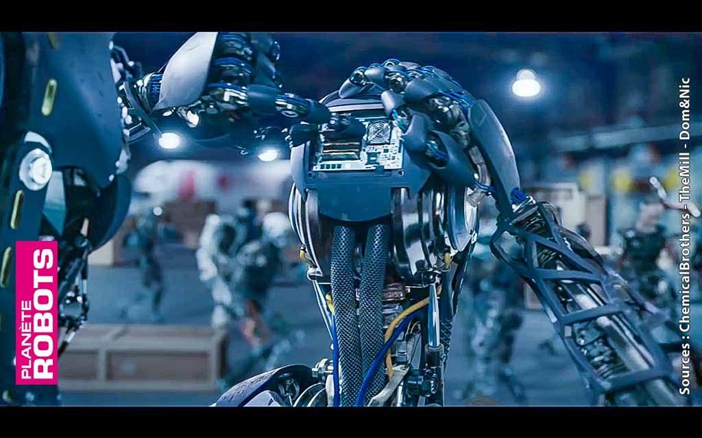 Une révolte de robots, au son des Chemical Brothers !