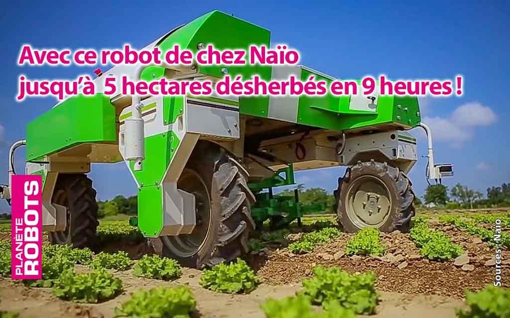 Naïo amplifie son développement industriel de robots écolos