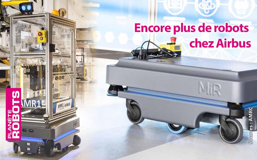 Plus de robots pour plus d'emplois qualifiés chez Airbus