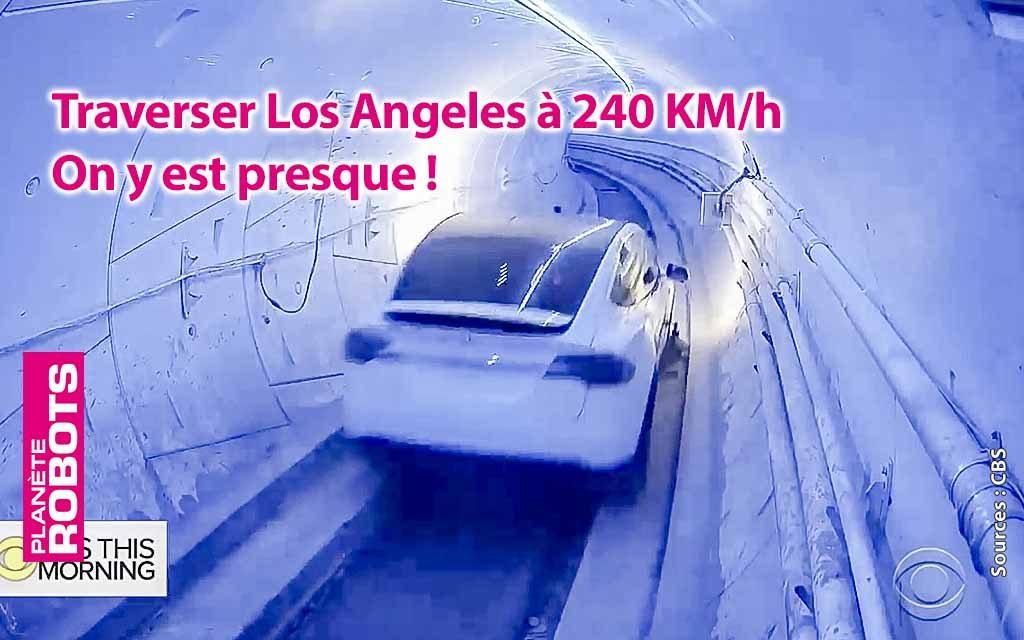 Principe validé par Elon Musk pour le tunnel de Boring
