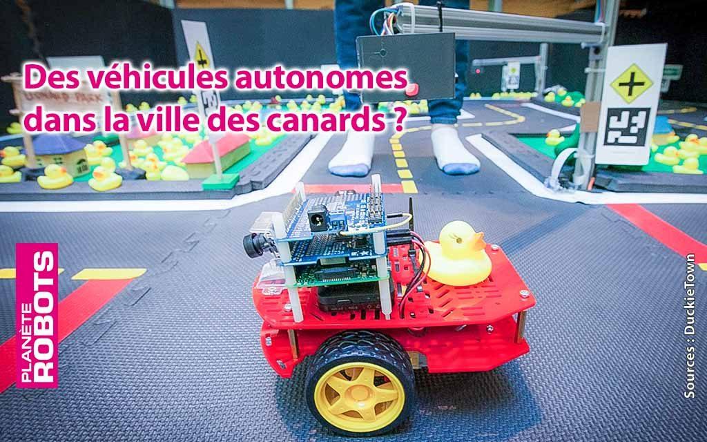 Quand les canards de Duckietown embarquent dans des véhicules autonomes