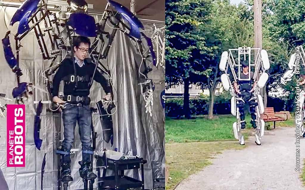 Avec Skeletonics mesurez plus de 2,50 mètres et bougez comme un robot