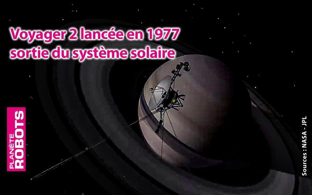 Voyager 2 vogue désormais dans l'Espace Interstellaire