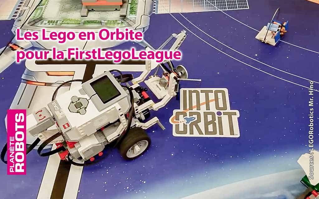 La FLL met les LEGO en orbite !
