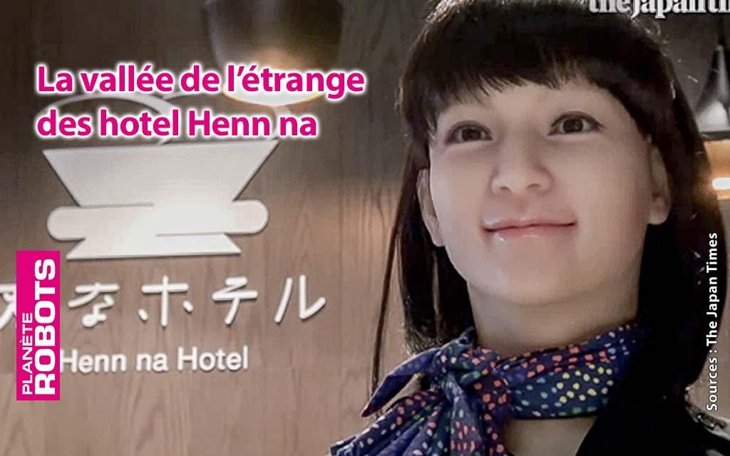 Les hotels Henn na au japon mettent hors service la moitié de leurs robots