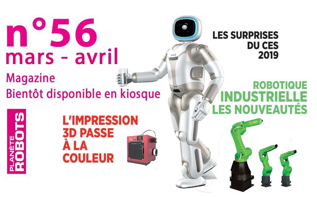 Planète Robots N°56 – Cybersécurité et robotique