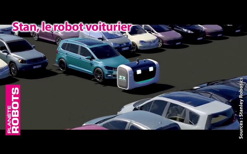 Stan le robot voiturier français