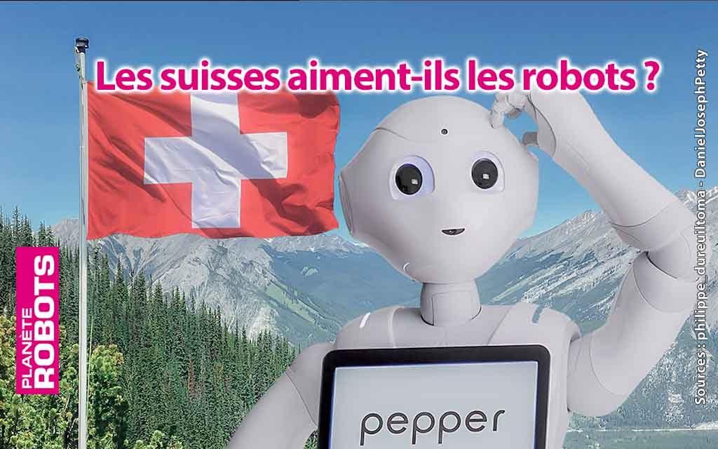 Les Suisses prêts à travailler avec des robots ?