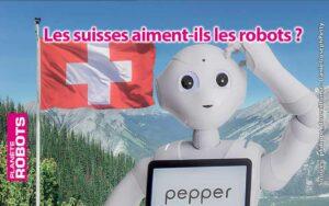 Pepper en Suisse et pas au Canada