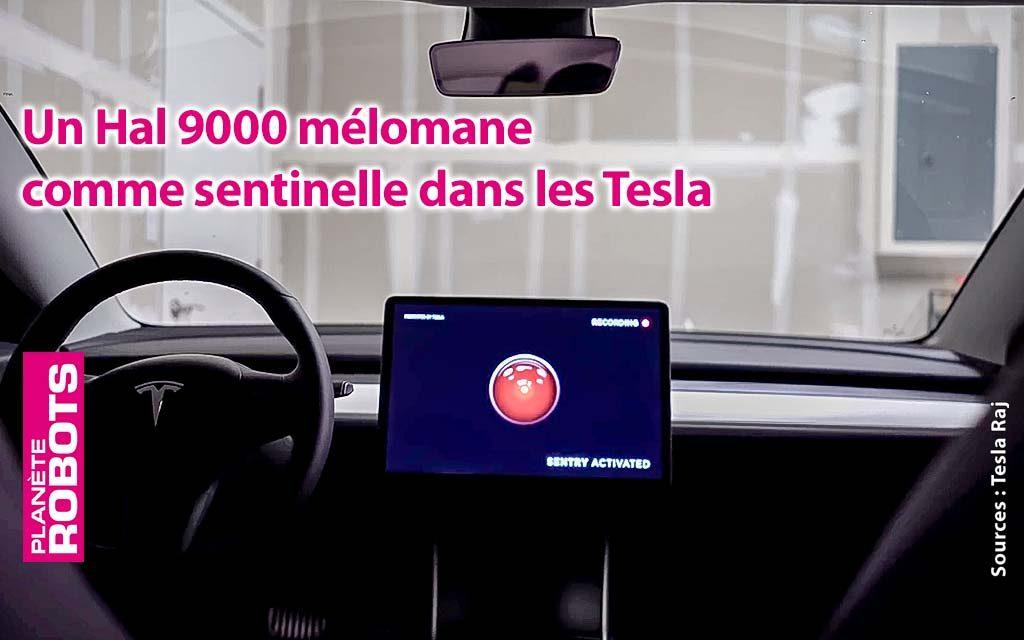 Hal 9000 dans les Tesla ?