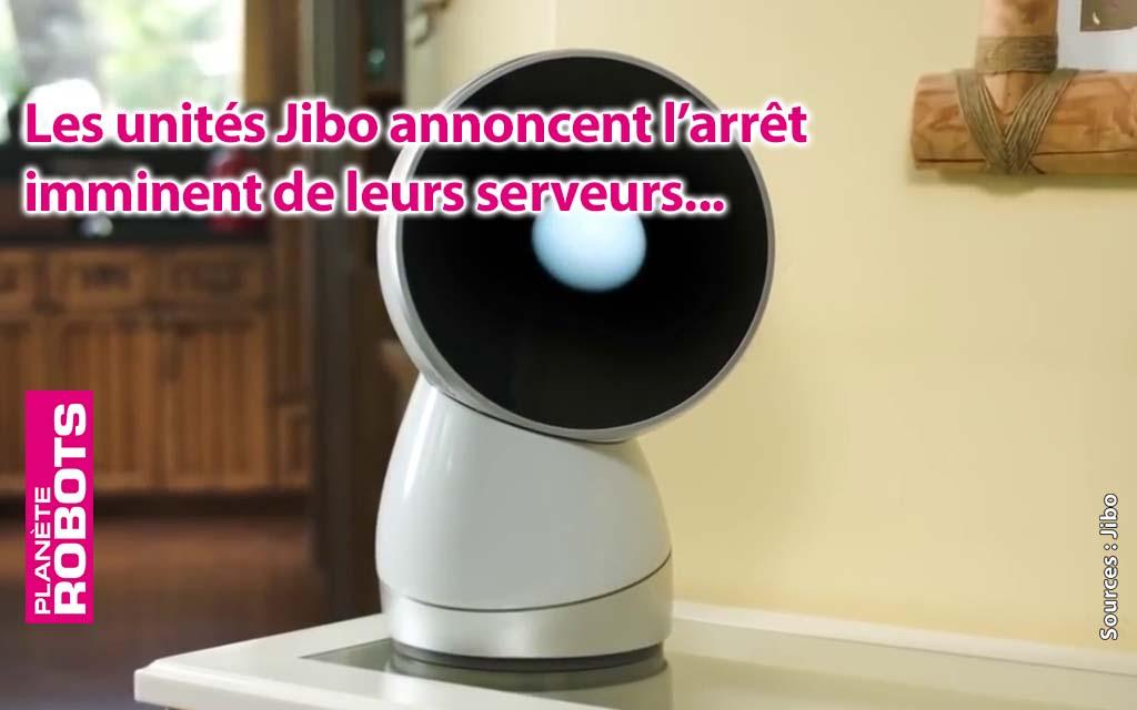 Le Robot Jibo c'est fini