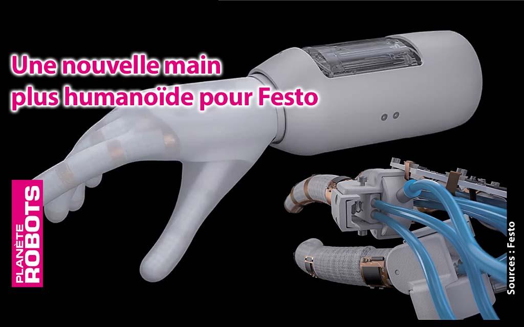 Festo présente une nouvelle main pneumatique