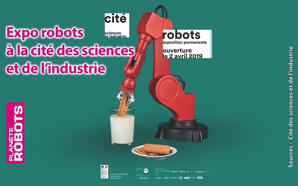 ROBOTS une grande exposition permanente à la Cité des sciences et de l'industrie
