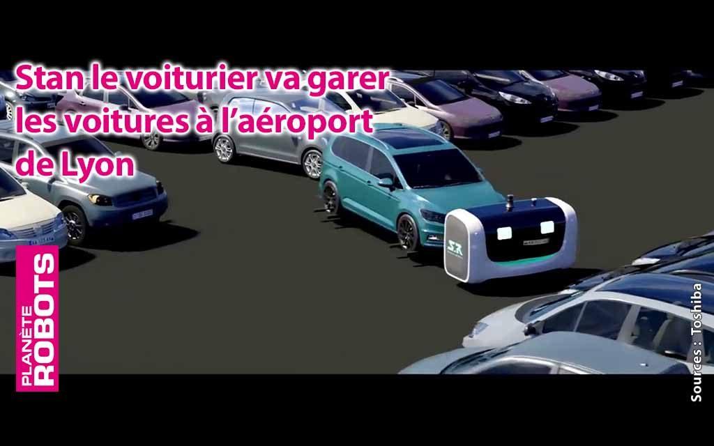 Stanley va garer des voitures à l'aéroport de Lyon