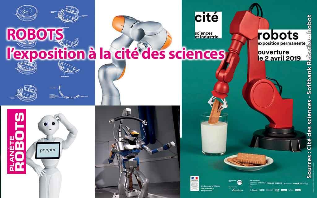 ROBOTS : l'exposition