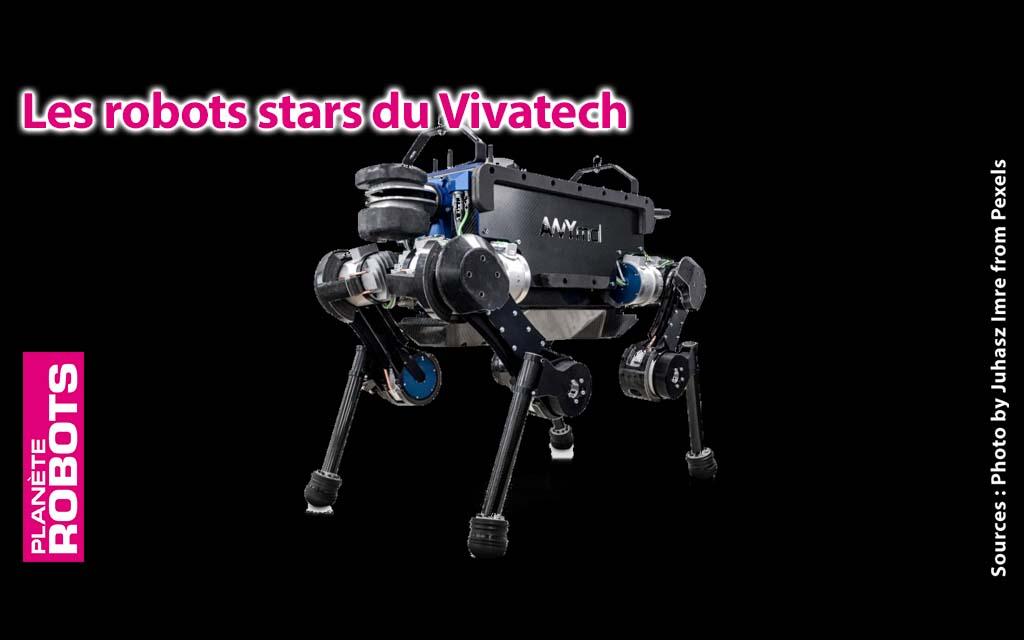 Les robots, stars du Vivatech