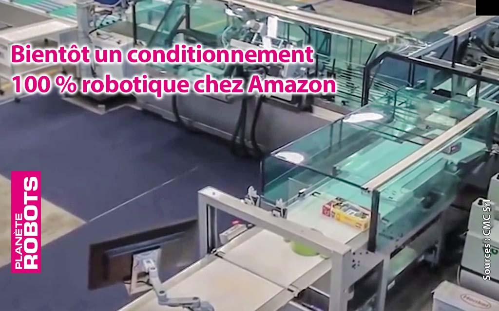 Les colis Amazon emballés par des robots