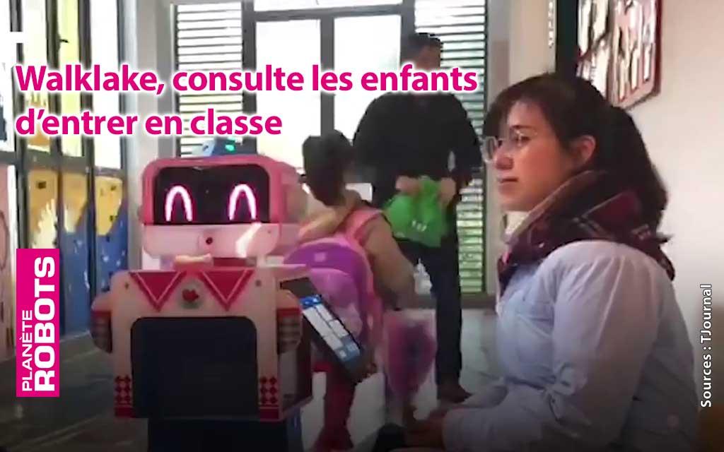 Des robots médecins dans les écoles chinoises