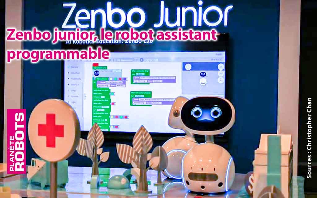 Le robot assistant Zenbo s'allège pour un plus grand public.
