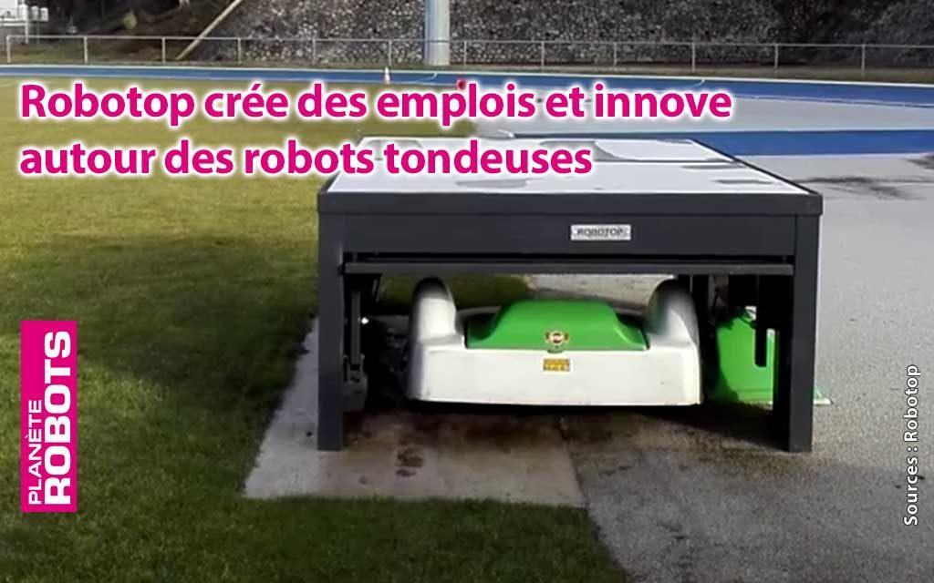 Ces robots qui créent des emplois