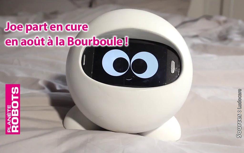 Le robot JOE va accompagner des curistes à la Bourboule