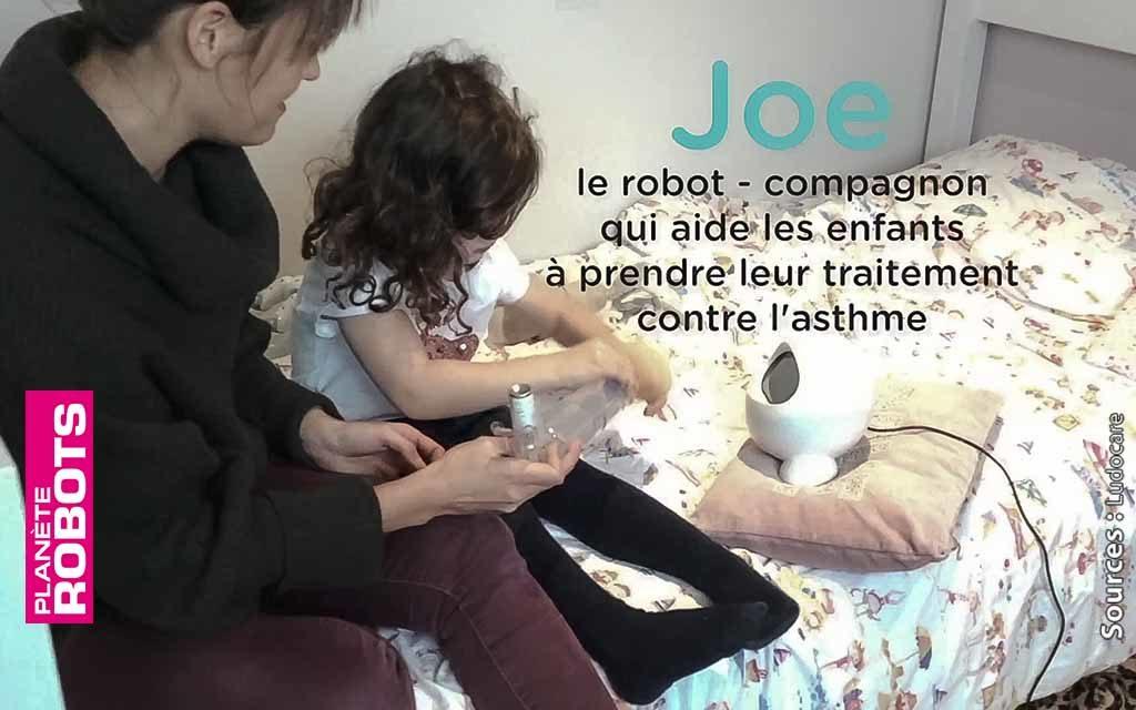 Joe une fois programmé, accompagne l'enfant dans ses soins.