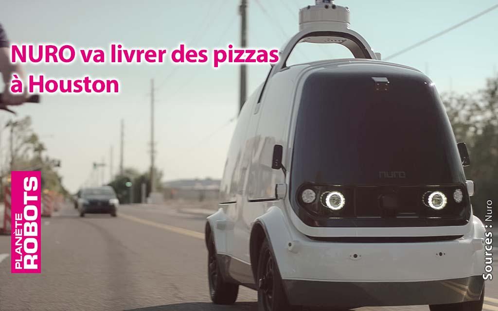 Les robots NURO vont livrer des pizzas