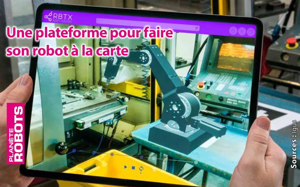 Une plateforme pour tester les robots en A.R.