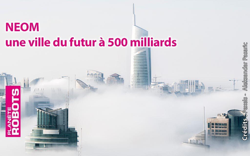 Neom une ville du futur qui va voir le jour en Arabie Saoudite